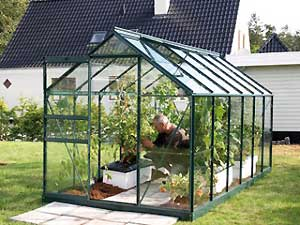 Venus greenhouse range from Vitavia available from P&A Garden supplies in Brittany